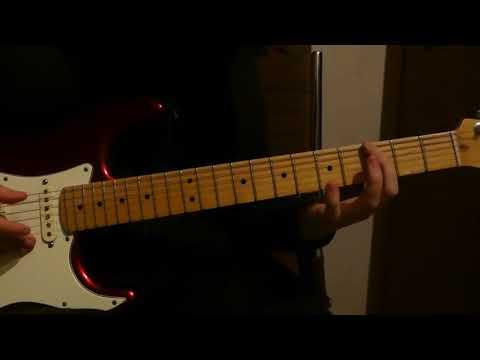 Radiohead - Weird Fishes (Guitar Lesson) - Part 3/3