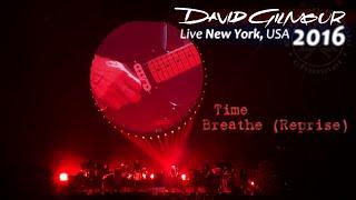 David Gilmour - Time / Breathe (Reprise)   New York, USA - April 11th, 2016   Subs SPA-ENG