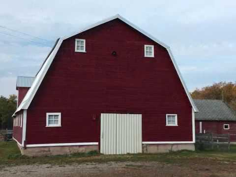 Hip Roof Barn Exterior Restoration 2017 Youtube