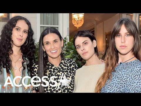 Demi Moore's Daughters Reflect On Mom's 'Jarring' Relapse: It Was Like 'A Monster Came'