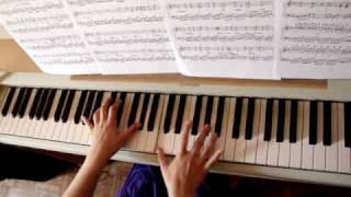 Lithium piano Evanescence