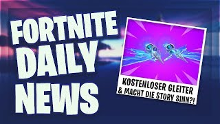*FREE* GLEITER OR VBUCKS - Fortnite Daily News (5 May 2019)