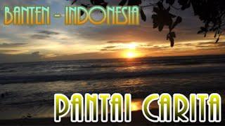 Wisata Indonesia: Pantai Carita yang indah untuk berenang, hanya 3 jam dari Jakarta. Banten 03