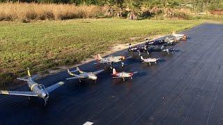 bring in the warbirds fms p51 800mm rochobby f2g super corsair dynam f4u corsair durafly t28