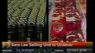 Sara Lee Sells Unit To Unilever