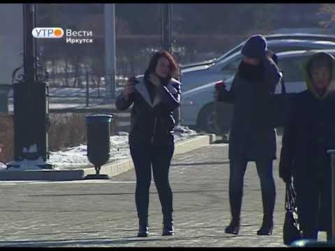 Главную городскую ёлку начали устанавливать в Иркутске