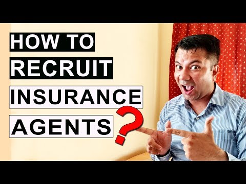 [ HINDI ] How To Recruit Insurance Agents ?