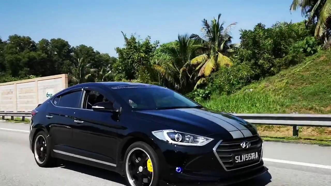Hyundai Elantra Malaysia Club Taiping Mega TT 2018