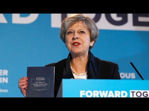 UK Conservative Party Presents its Austerity Election Program (1/2)