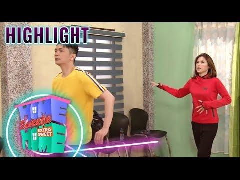 Ferdie teaches Julie to dance | HSH Extra Sweet
