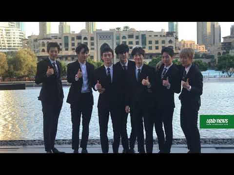 K-pop song by boy band EXO added to the Dubai Fountain's playlist