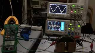 Balancing of No load current for 50Hz transformer