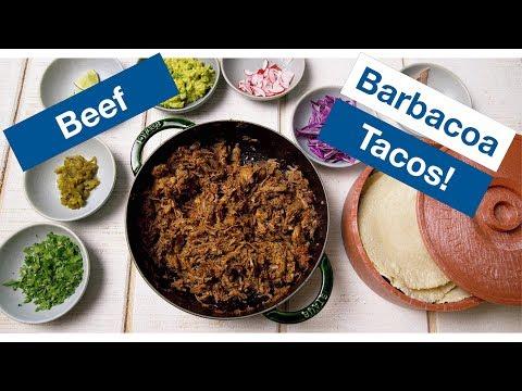 Brisket Barbacoa Tacos Recipe || Le Gourmet TV Recipes
