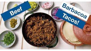 Crazy Good BEEF Brisket Barbacoa TACOS Recipe