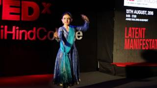 Fusion Dance Performance | Ishwari Deshpande | TEDxJaiHindCollege