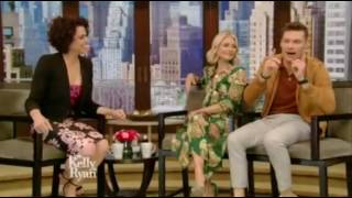 Lana Parrilla interview Live Kelly and Ryan