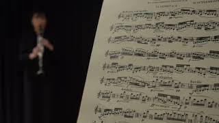 Sutermeister - Capriccio for Solo Clarinet 10