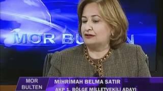 Belma Satır   İMC TV   Mor Bülten Ropörtajı