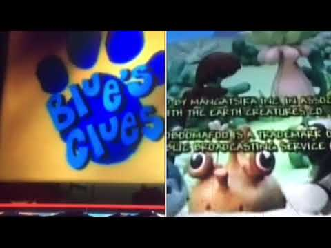 Blue's Clues, Teletubbies, Zoboomafoo Credits Remix