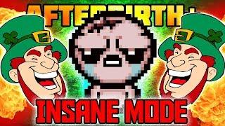 LUCKIEST Insane Mode Run EVER - Afterbirth+ Custom Mods