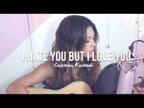 i hate you but i love you - Russian Red (COVER)