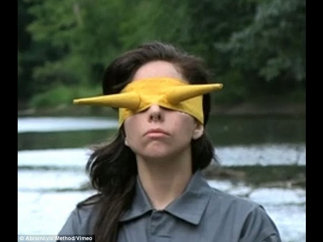 The Abramovic Method Practiced by Lady Gaga (VIDEO)