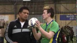 Keven Mealamu Shares Lineout Throwing Tips