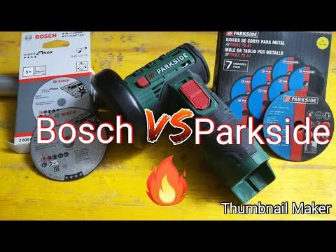 #faidate #Parkside #bosch Disco taglio bosch vs parkside🇮🇹