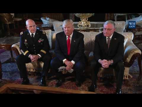 President Trump Announces H.R. McMaster as National Security Advisor