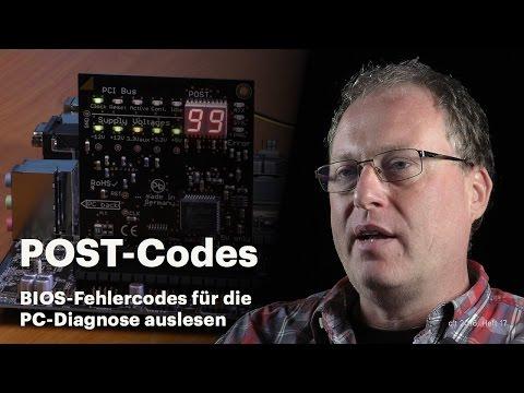 nachgehakt: PC-Diagnose mit POST-Codes?