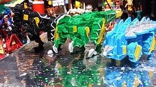 よみがえるミニプラ カミツキ合体獣電竜 第二弾 mini Dinosaur