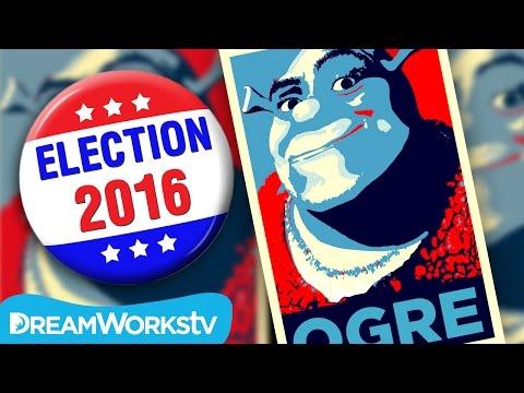 Shrek For President #Shrek2016
