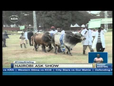 Traders from all over the country exhibit their products at Nairobi International Trade Fair