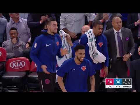 Los Angeles Clippers vs. New York Knicks - November 20, 2017