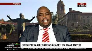 Corruption allegations against Tshwane mayor