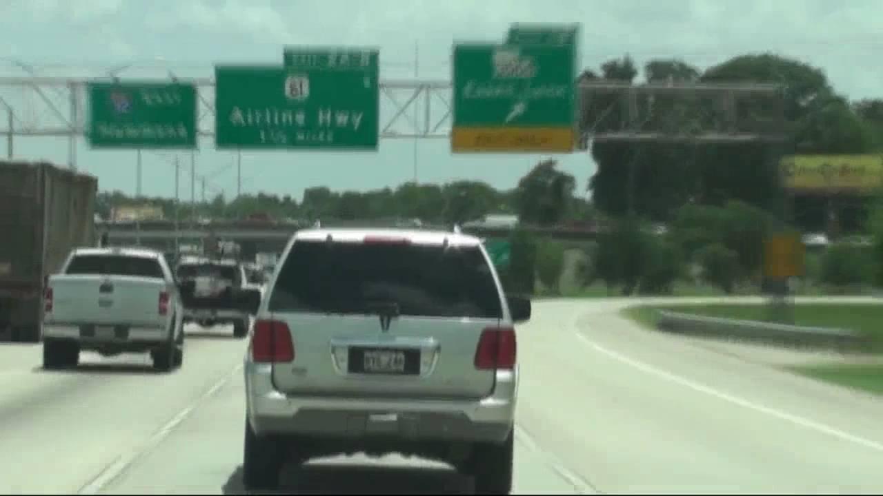 Baton Rouge to Hammond I-10 thru I-12