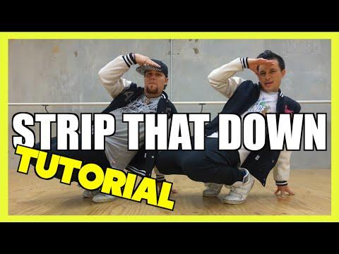 STRIP THAT DOWN - Liam Payne Dance TUTORIAL 🖖 Jayden Rodrigues