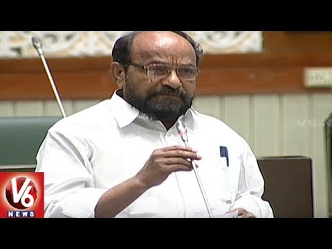 TRS, BJP And MIM MLAs Questions Govt On Mission Bhagiratha Works In Hyderabad   TS Assembly   V6