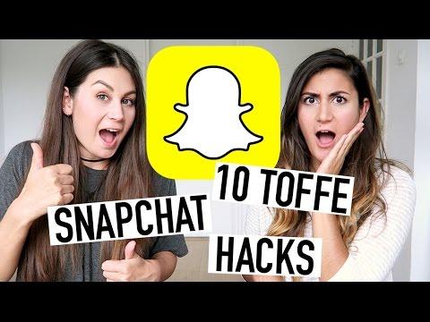 10 TOFFE SNAPCHAT HACKS!