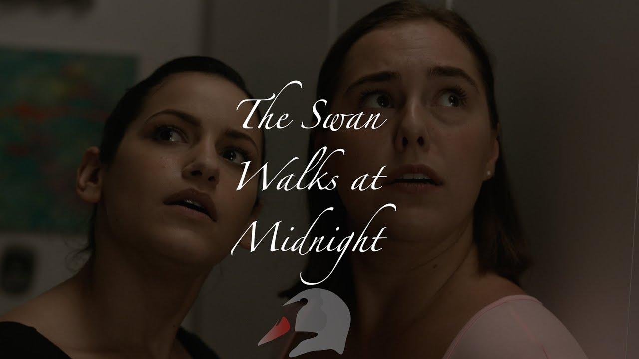 The Swan Walks at Midnight