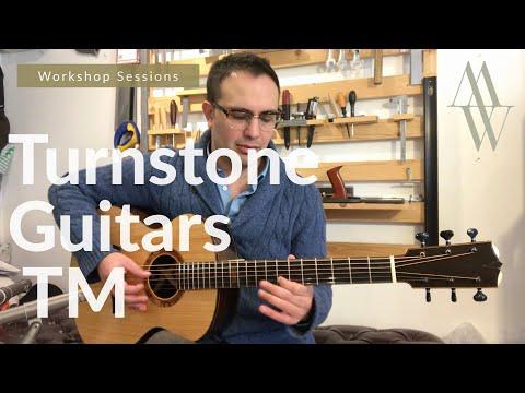 Turnstone Guitars TM (Fenland Black Oak + Monterey Cypress) Workshop Sessions - Michael Watts