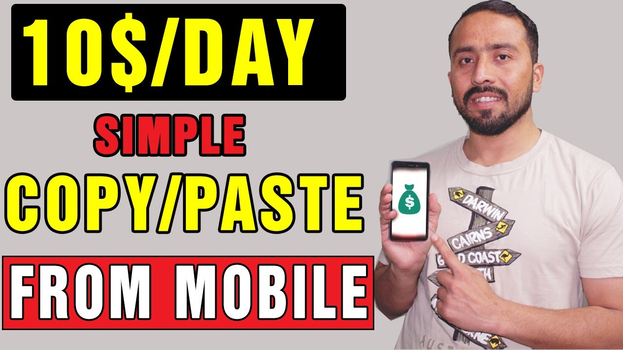 Simple Copy Paste Freelance Work    Earn Money Online in Pakistan Using This Amazing Service