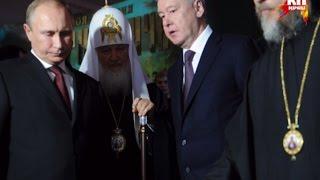 Владимир Путин побывал на Манеже, где открылась интерактивная выставка-форум ''Православная Русь.''