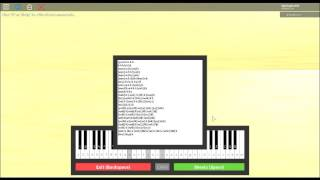 (Roblox Virtual Piano) Fight song/Sheets
