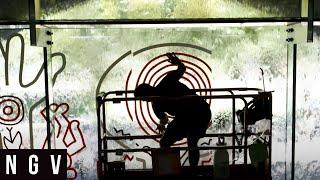 Keith Haring | NGV Waterwall