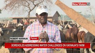 Boreholes addressing water challenges on Kayanja's farm