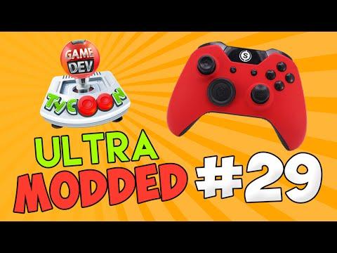 Game Dev Tycoon Ultra Modded #29 - CUSTOM HARDWARE w/Seniac