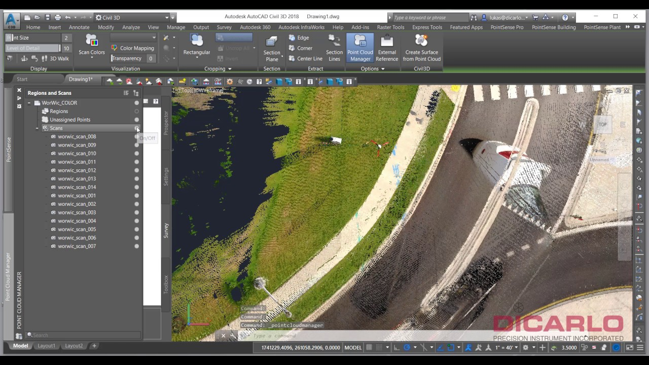 AutoCAD tips on how to import NAD83 USft coordinate level