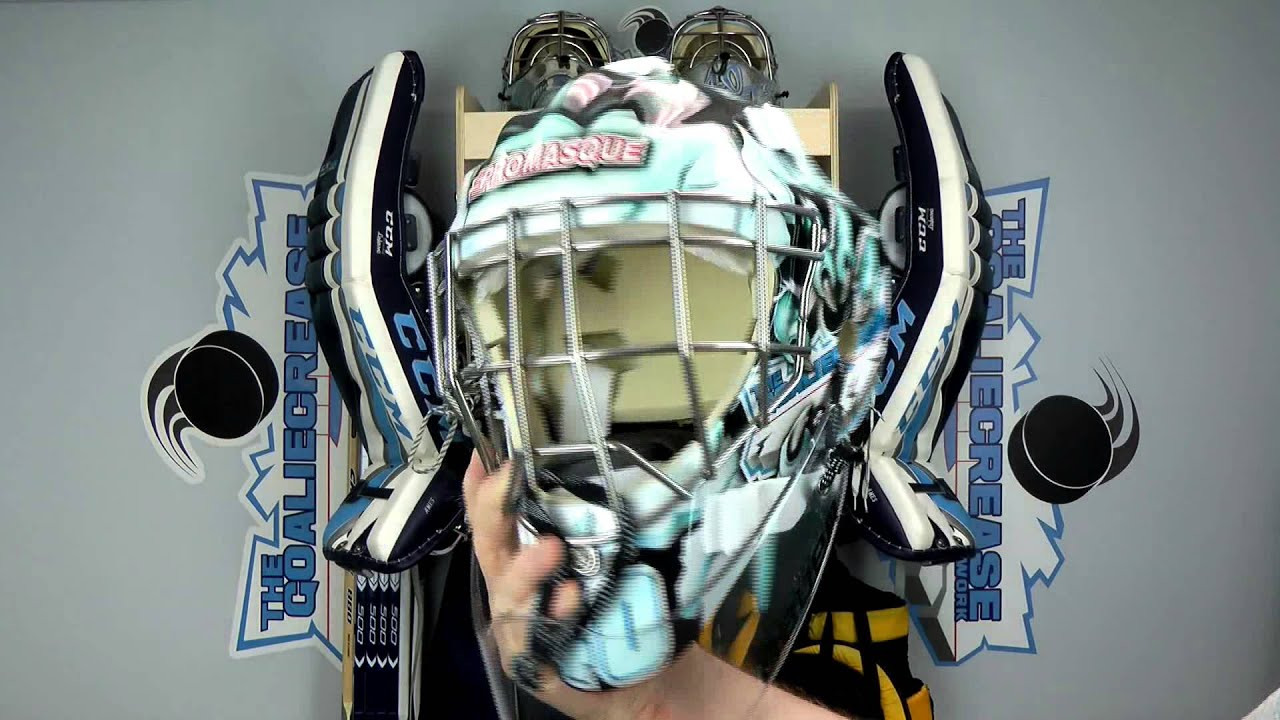 How To Remove Paint From A Goalie Mask