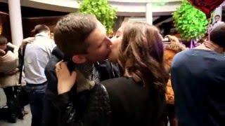 Самый массовый поцелуй в Гродно